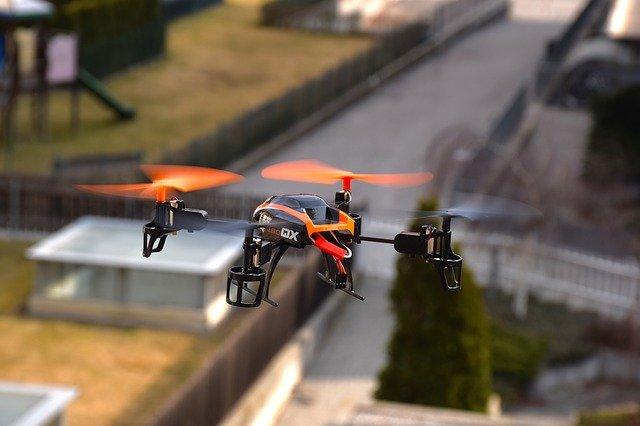 Luftbilder mit Drohnen